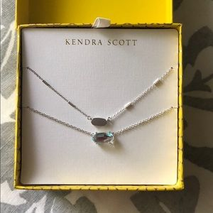 Kendra Scott | Fern & Ever Silver Necklaces